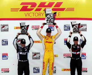 2013 Milwaukee IndyFest Podium