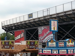 Section YY Bleachers at Milwaukee Mile